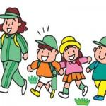 新1年生の入学を歓迎し、各学年の進級を祝うための春の遠足
