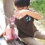 理科実験の自由研究!ペットボトル噴水の簡単な作り方